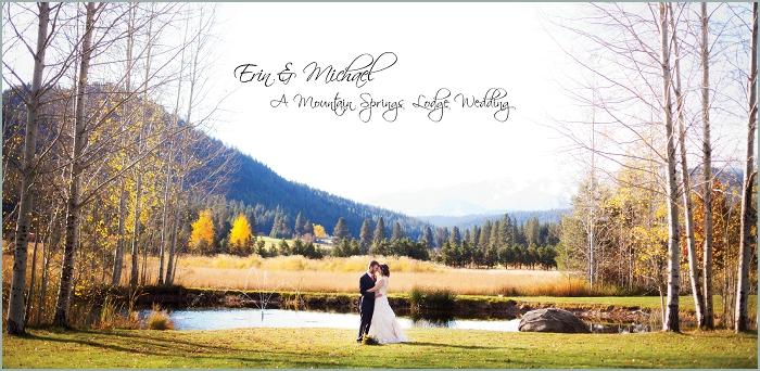 Wedding Albums by Leavenworth Wedding Photographers | benandmolly.com