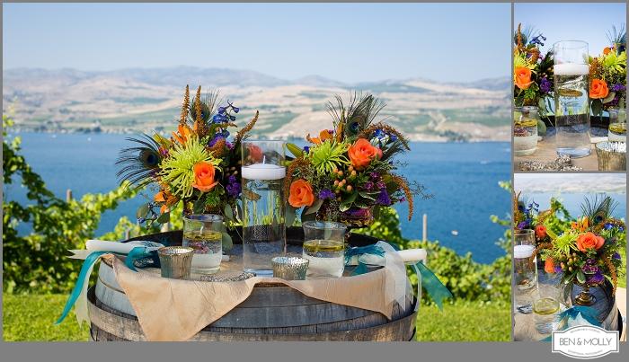 Jake Emily Lake Chelan Wedding Karma Vineyards Benandmolly