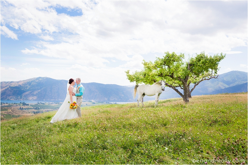 Atam Winery Lake Chelan wedding venue photo