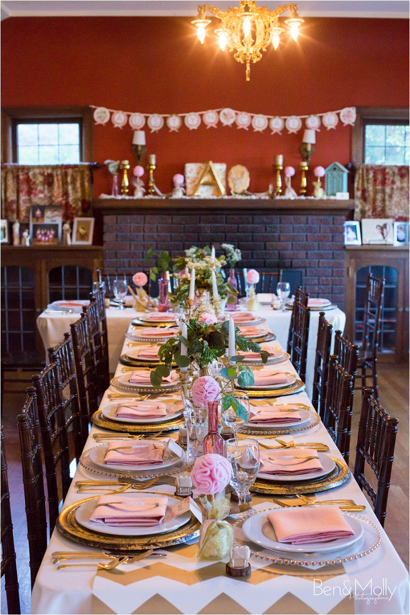 A Blush Pink, and Gold Woodsy Baby Shower » benandmolly.com